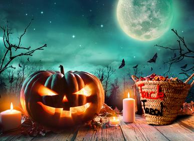 Children's party decorations - Halloween basket trick treat - ORIGINAL MARRAKECH