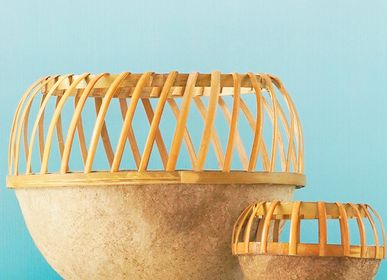 Vases - Paper Clay Basket (Large) - INDIGENOUS