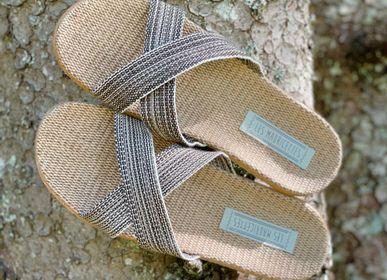 Shoes - Les Mauricettes de Leopold, crossed man tap - LES MAURICETTES