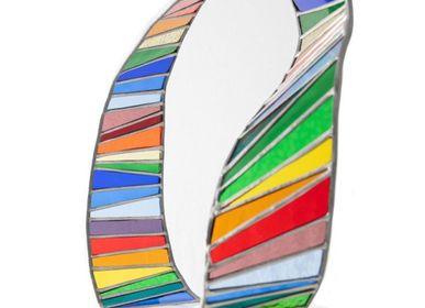 Verre d'art - Ruban Infini multicolore - L'ATELIER DES CREATEURS