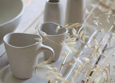 Assiettes de réception - collection en gres artisanal naturel - FIORIRA UN GIARDINO SRL