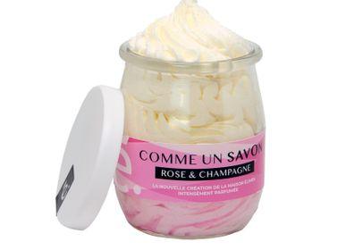Savons - Comme un savon Rose & Champagne - ÉLIMÉA