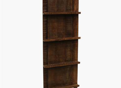 Bookshelves -  Factory standing magazine rack - RAW MATERIALS