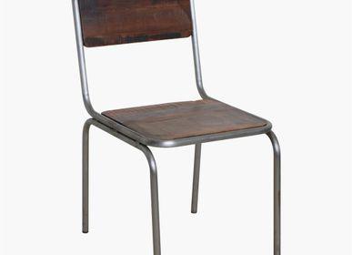 Chaises - chaise de salle à manger Factory - RAW MATERIALS