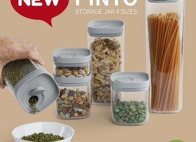 Food storage - Pinto Storage jar - Kitchenware : Food Storage Container 100% recyclable. - QUALY DESIGN OFFICIAL