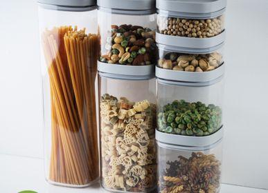 Boîtes de conservation - Pinto Storage jar - Ustensiles de cuisine: Contenant de stockage des aliments 100% recyclable. - QUALY DESIGN OFFICIAL