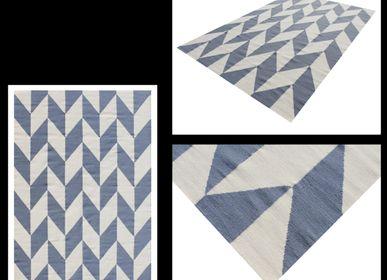 Tapis design - Kilim, Dhurrie Rug and Carpet 4 - INDIAN RUG GALLERY