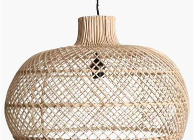 Suspensions - Lampe labyrinthe naturel et noir - RAW MATERIALS