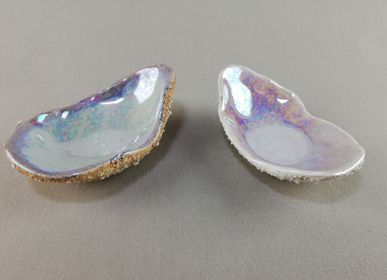 Christmas table settings - IRIDESCENT OYSTER  - MALIFANCE