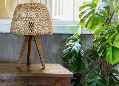 Lampes de table - Lampe de table trépied Maze naturel - RAW MATERIALS