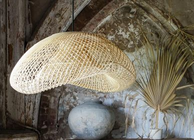Suspensions - Lampe labyrinthe bio naturel - RAW MATERIALS