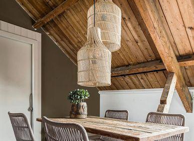Suspensions - Bouteille lampe labyrinthe naturelle petite et grande - RAW MATERIALS