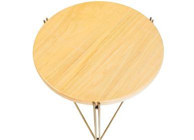 Desks - LINHA Side Table Granite - FILIPE RAMOS DESIGN