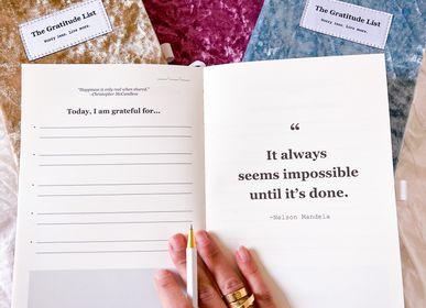 Cadeaux - AWARD-WINNER: The Gratitude List journals - THE GRATITUDE LIST