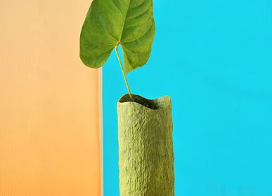 Vases - Vase en argile en écorce de bois - INDIGENOUS