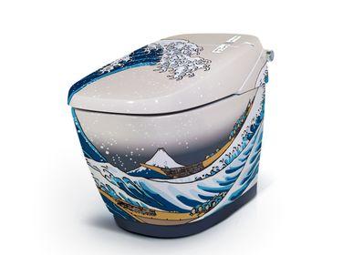 Objets de décoration - toilettes japonaises HOKUSAI - ARTOLETTA.EU GALLERY&AWARD