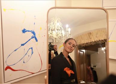 Foulards et écharpes - Pochette «Le goût de la vie» - AMRES ART