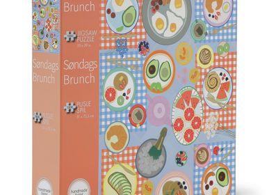 Cadeaux - Puzzle 1000 pièces Dimanche Brunch by handmadeliving - PENNY PUZZLE