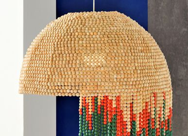 Decorative objects - STONESETS Beads Lamp Chandelier  - KINDRED DESIGN COLLECTIVE FURNITURE