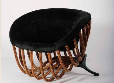 Chairs - Fiore Accent Chair - FINALI FURNITURE