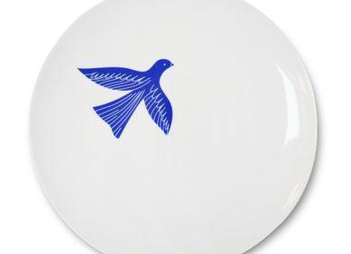 Assiettes au quotidien - Assiette plate Bakea Encre - LA MAISON JEAN-VIER