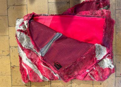 Plaids - Plaid, faux fur, pink - CHRISTOPH BROICH HOME PROJECT