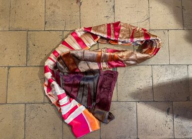 Scarves - Rainbow scarf in giftbox - CHRISTOPH BROICH HOME PROJECT