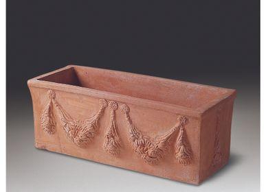 Vases - RECTANGULAR PLANTER - IL FERRONE