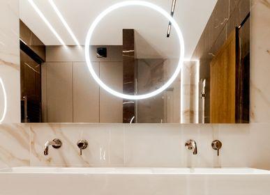 Miroirs - AURORA- led miroir rectangulaire classique - O'VIRRO