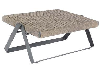 Garden textiles - Dobra Outdoor Footstool - FILIPE RAMOS DESIGN
