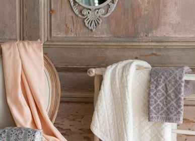 Bath towels - Douceur Florale hand towels - MATHILDE M.