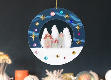 Other Christmas decorations - Creative and Educational Hobbies Kit - Christmas Wreath - DIY Toys for Kids - L'ATELIER IMAGINAIRE
