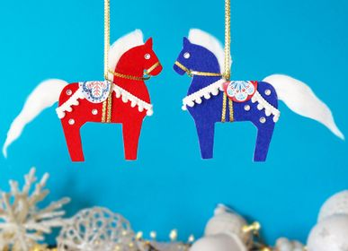 """Autres décorations de Noël - Kit de loisirs créatifs et éducatif """"Noël en Scandinavie"""" - Jouets DIY Enfants - L'ATELIER IMAGINAIRE"""