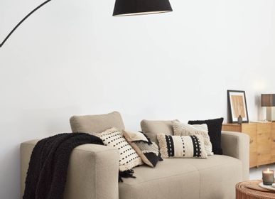 Office seating - Blok 3-seater sofa in beige 240 cm - KAVE HOME
