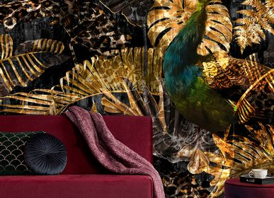 Hotel bedrooms - Wallcovering Paradise - LA AURELIA DESIGN