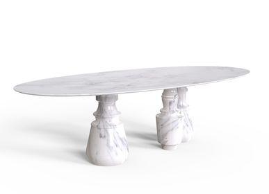 Tables Salle à Manger - PIETRA OVALE ESTREMOZ Table de salle à manger - BOCA DO LOBO