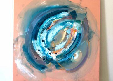 Paintings - Llenando - acrylic paint - IMOGEN HOPE