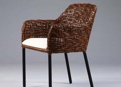Chairs for hospitalities & contracts - CASA SELMA Juana Arm Chair  - DESIGN PHILIPPINES HOME