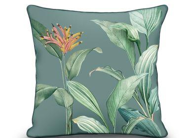 Fabric cushions - Italian Nylon Velvet Cushions - CHIC-INTEMPOREL