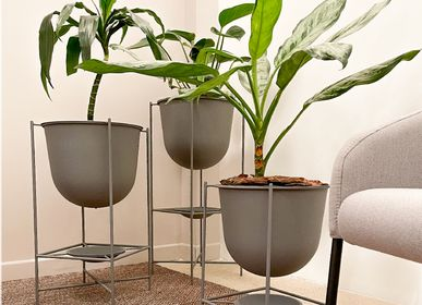 Decorative objects - Oval Large Flower Pot - DESIGN ROOM COLOMBIA