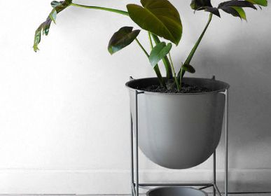 Decorative objects - OVAL SMALL FLOWER POT - DESIGN ROOM COLOMBIA