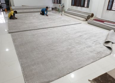 Tapis sur-mesure - Handwoven/ LoomKnotted Loop Cut Customizable Carpet and Rug 8 - INDIAN RUG GALLERY