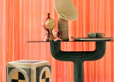 Night tables - LA GALUCHE Shagreen Side Table  - KINDRED DESIGN COLLECTIVE HOME