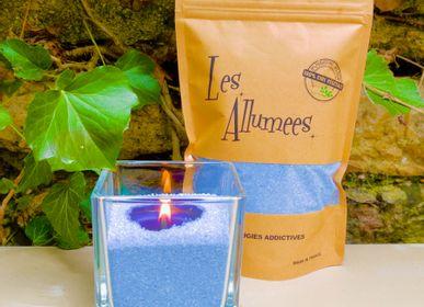 Candles - Lagoon Blue Candle Sand - L'ATELIER DES CREATEURS