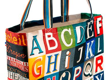 Bags and totes - Shopping bag Alphabet - MARON BOUILLIE