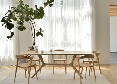 Dining Tables - Oak X dining table - ETHNICRAFT