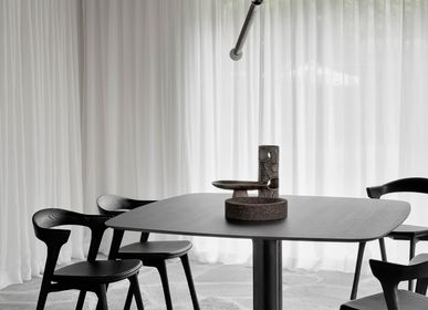 Dining Tables - Oak Corto brown dining table - ETHNICRAFT