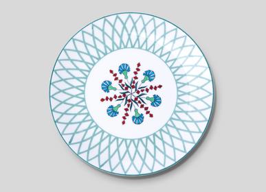 Formal plates - Dinner Plate Volutes  - MAISON MANOÏ