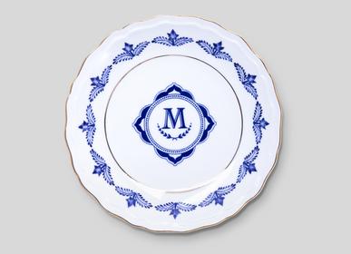 Formal plates - Assiette creuse Héritage - MAISON MANOÏ