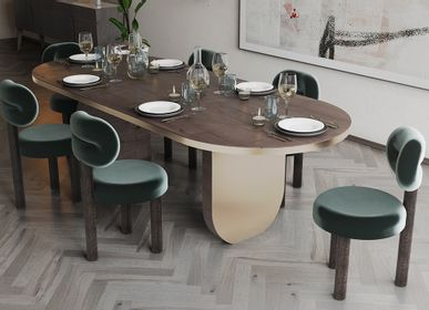 Tables for hotels - EZRA | Dining table - ESSENTIAL HOME